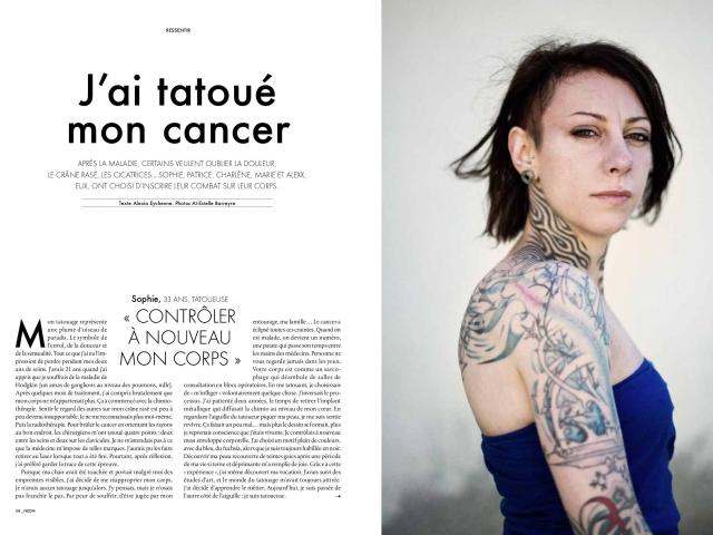 Neon tatouage et cancer 1